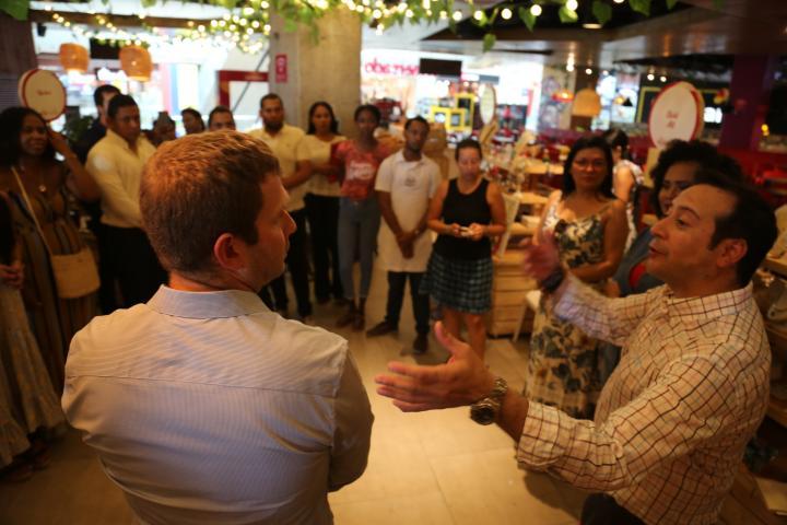 ¡Inició la Feria de Industrias Culturales Cartagena Creativa de Mallplaza y la Cámara de Comercio de Cartagena!