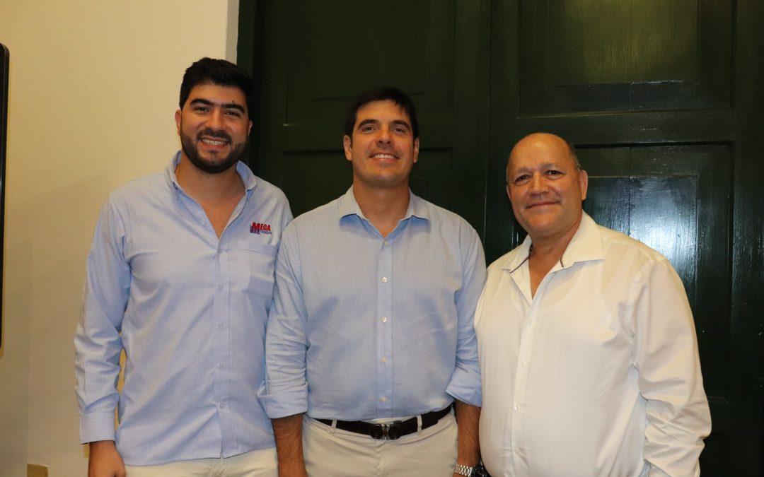 En primera sesión ordinaria de Junta Directiva CAMILO RAMÍREZ CASTAÑO Y CARLOS MARIO LÓPEZ SOTO, ELEGIDOS PRESIDENTE Y VICEPRESIDENTE, RESPECTIVAMENTE, DE LA JUNTA DIRECTIVA DE LA CCC Juan Pablo Vélez Castellanos fue nombrado en propiedad, Presidente Ejecutivo de la Cámara de Comercio de Cartagena.