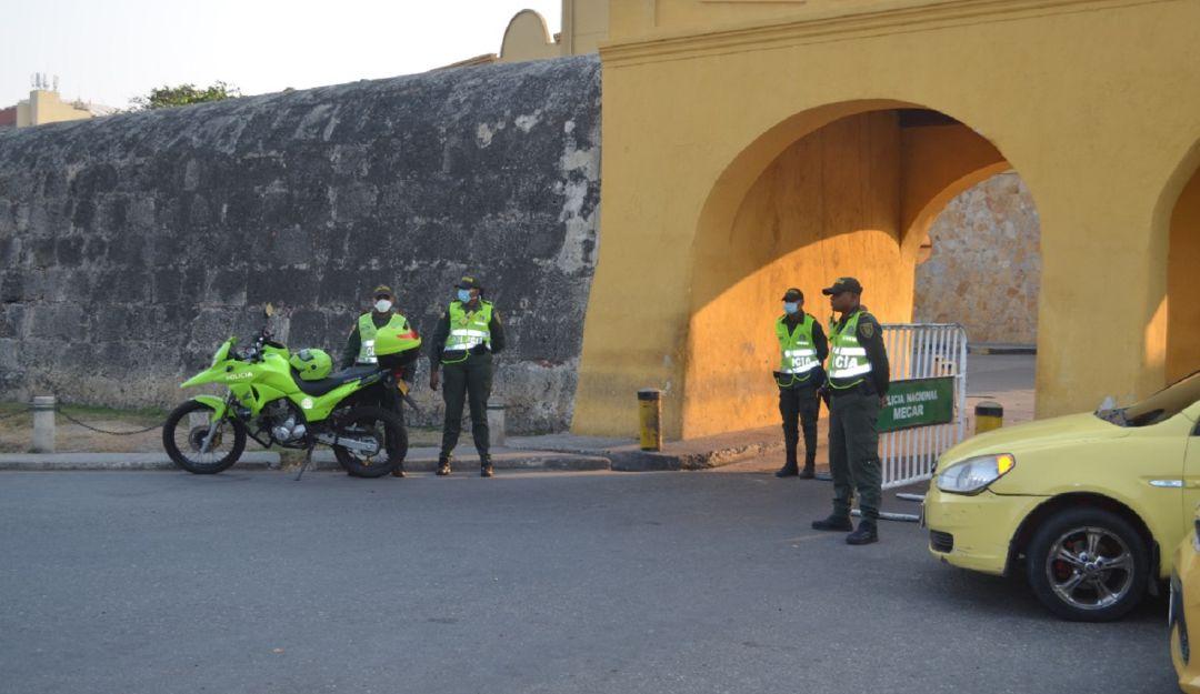 Autoridades, a seguir garantizando el orden: llamado de la Cámara de Comercio de Cartagena