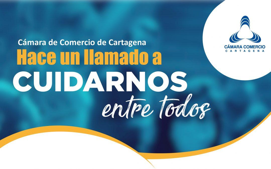 Cámara de Comercio de Cartagena Hace un llamado a cuidarnos entre todos