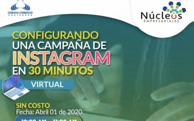 Configurando una campaña en instagram de 30 minutos
