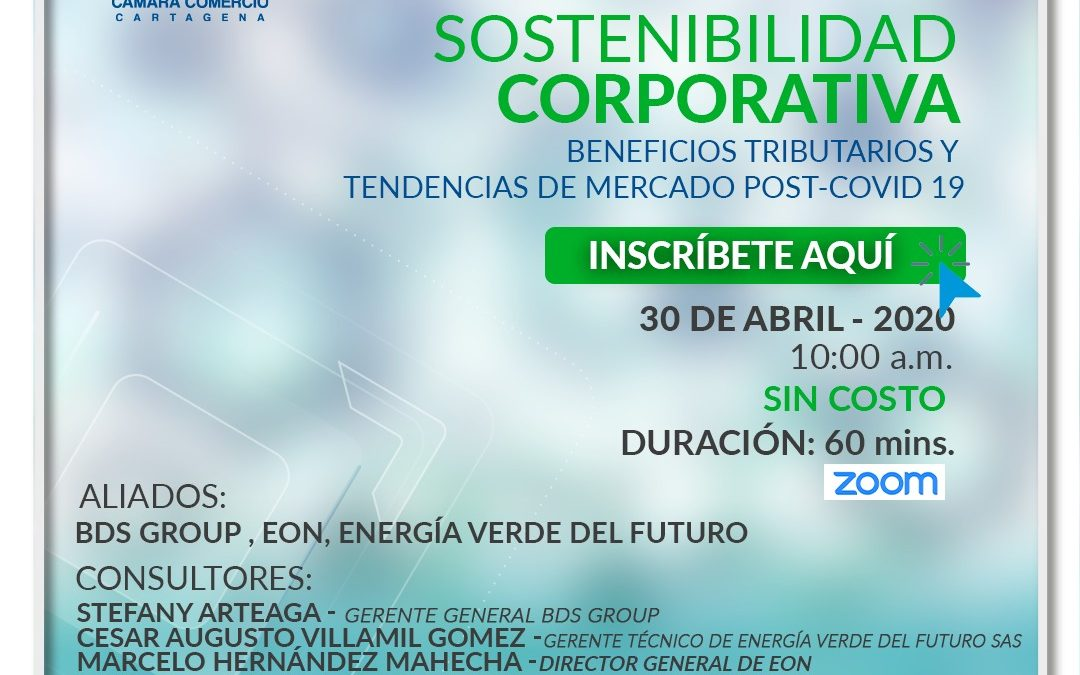 Sostenibilidad corporativa beneficios tributarios y tendencias de mercado post-covid 19