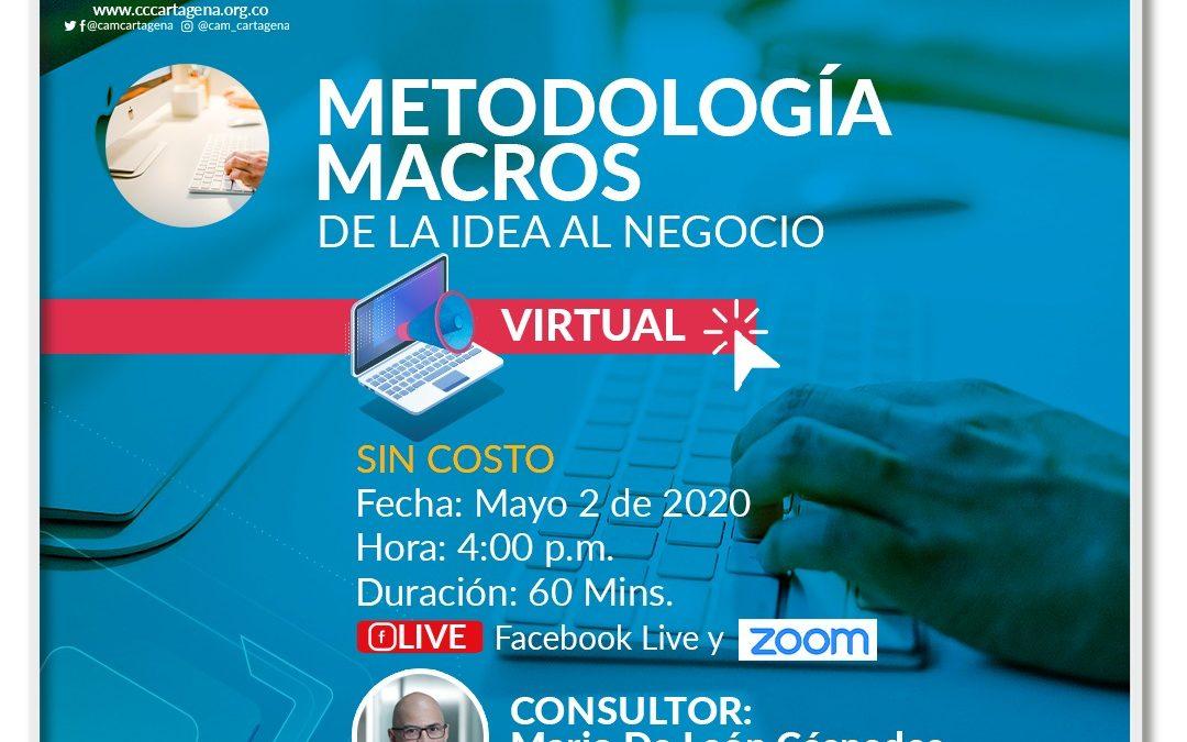 Metodología MACROS de la idea al negocio