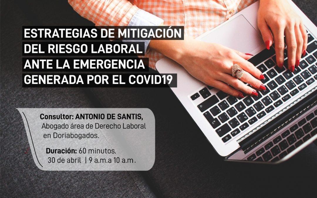 Estrategias de mitigación del riesgo laboral ante la emergencia generada por el covid-19