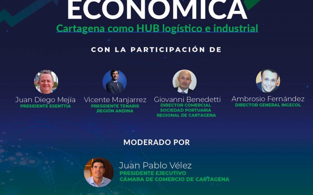 Foro virtual reactivación económica cartagena como hub logístico e industrial