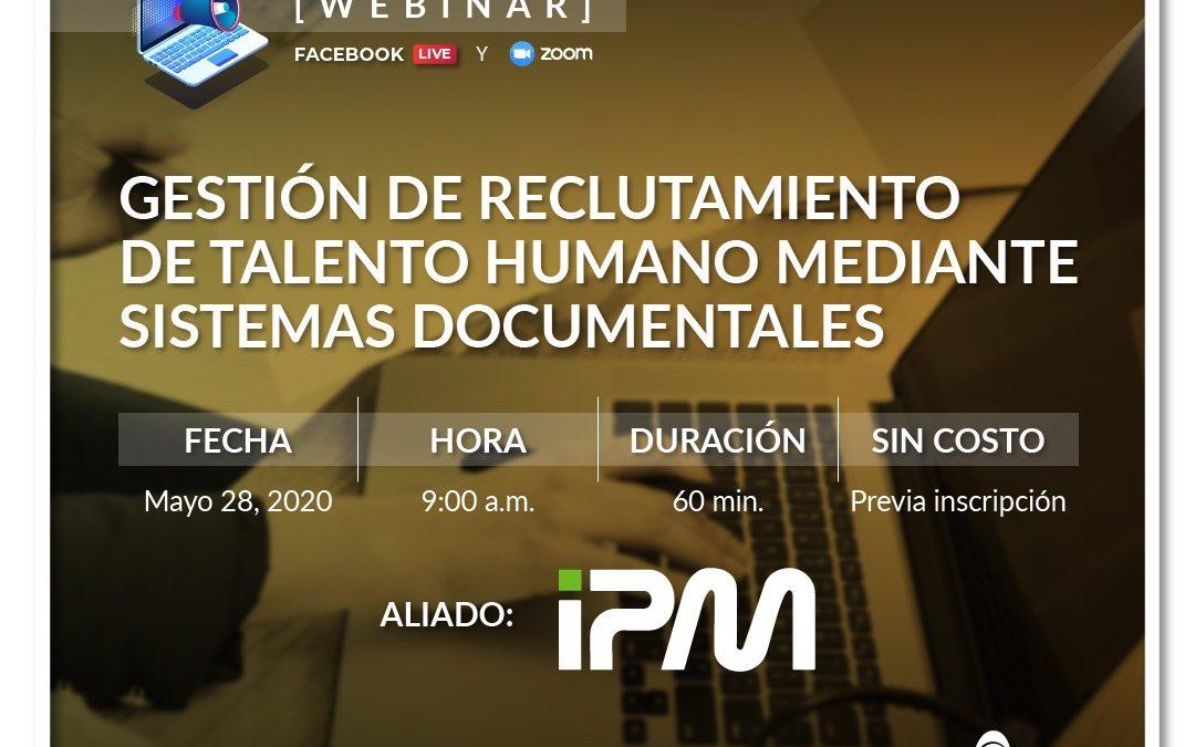 Gestión de reclutamiento de talento humano mediante sistemas documentales
