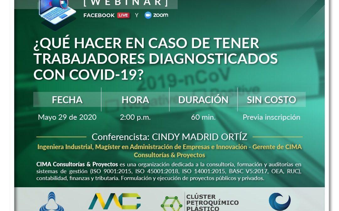¿Qué hacer en caso de tener trabajadores diagnosticado con covid-19?