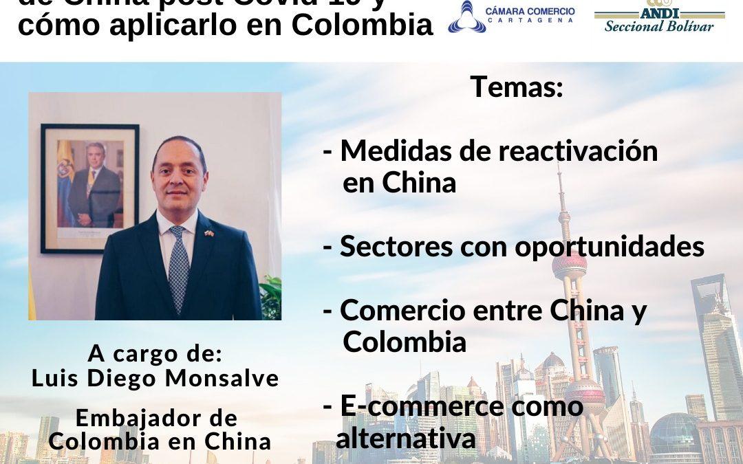 Proceso de reactivación de china post covid-19 y como aplicarlo en colombia