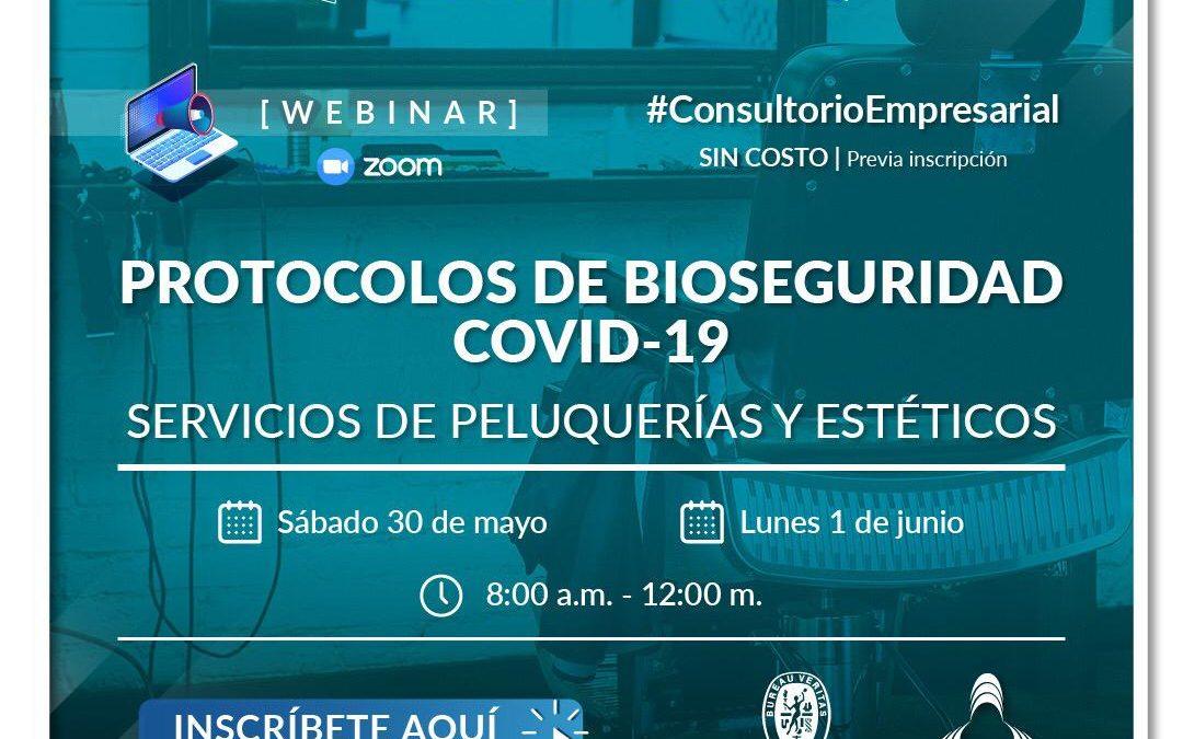 Protocolo de bioseguridad covid-19 servicios de peluquerias y estéticos
