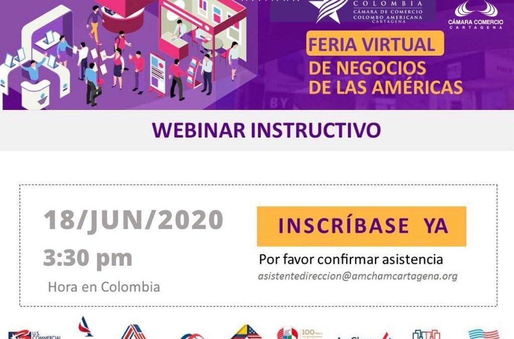 Feria virtual de negocios de las Américas