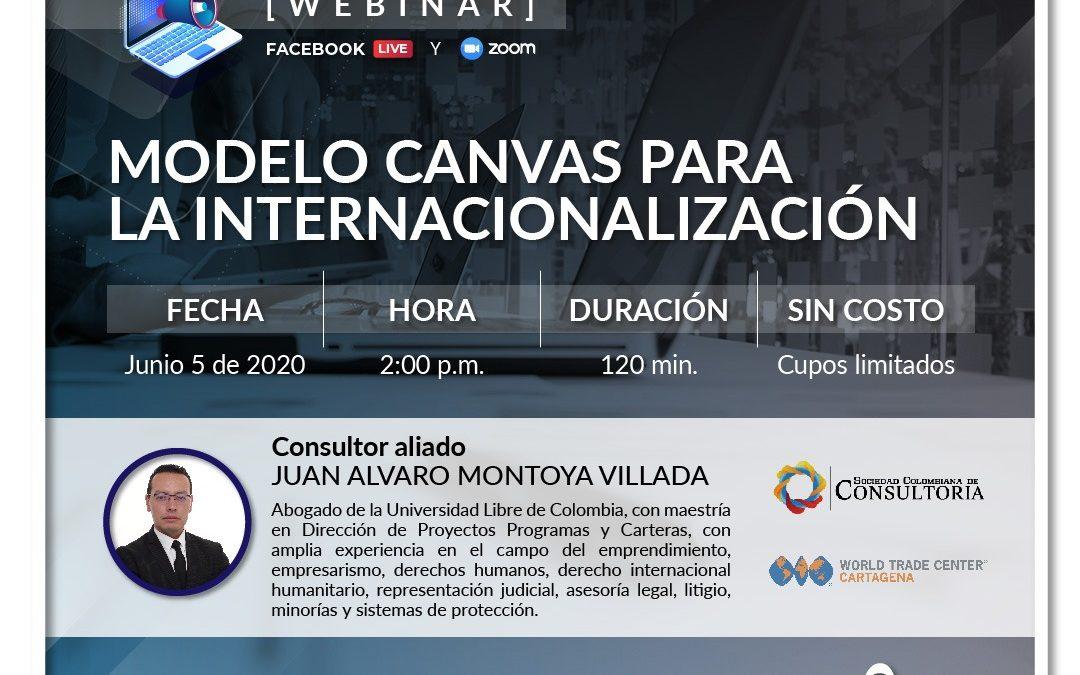 Modelos canvas para la internacionalización