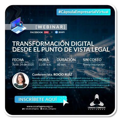Transformación digital desde el punto vista legal