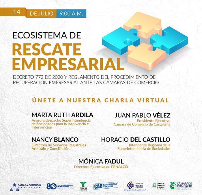 Charla Virtual Ecosistema de Rescate Empresarial