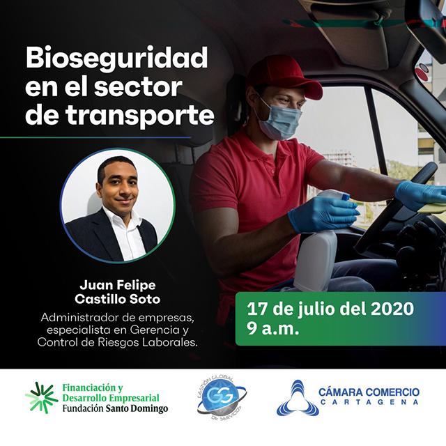 Bioseguridad en el sector transporte