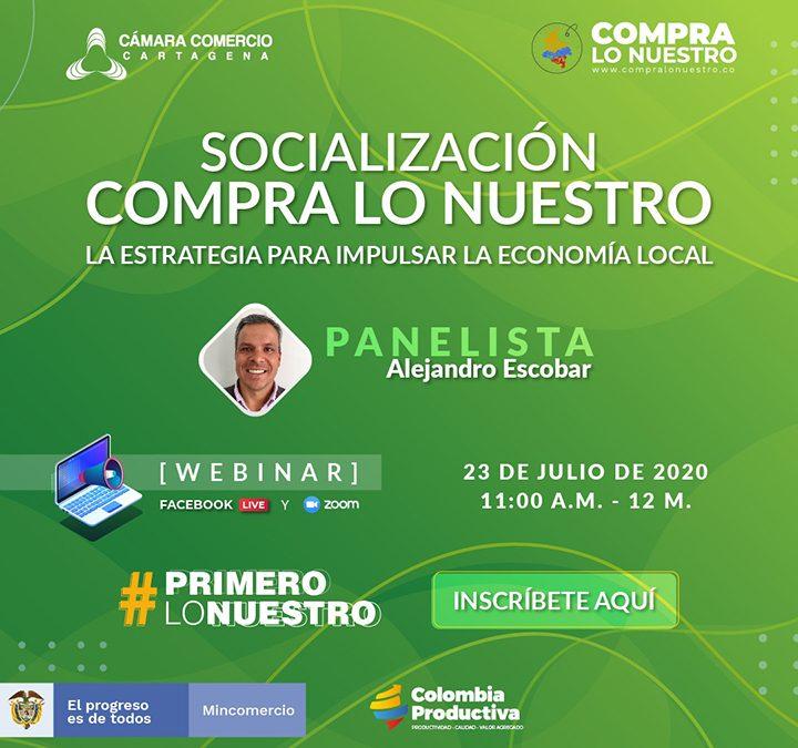 """Socialización de """"Compra lo Nuestro"""", la estrategia para impulsar la economía local"""