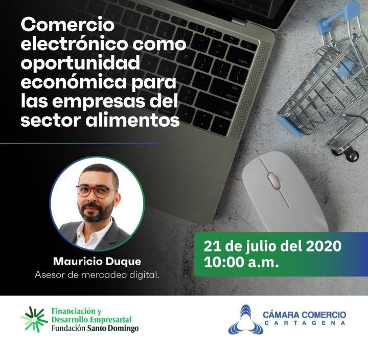 Comercio electrónico como oportunidad económica para las empresas del sector alimentos