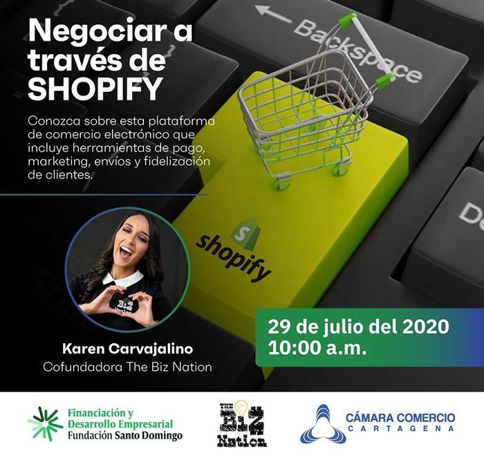 Negociar a través de Shopify