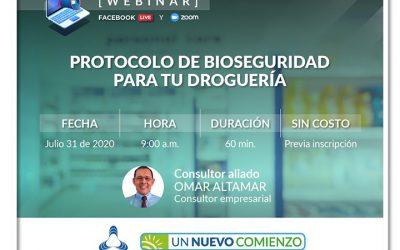 Protocolo de bioseguridad para tu droguería