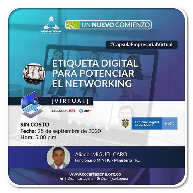 Etiqueta digital para potenciar el Networking