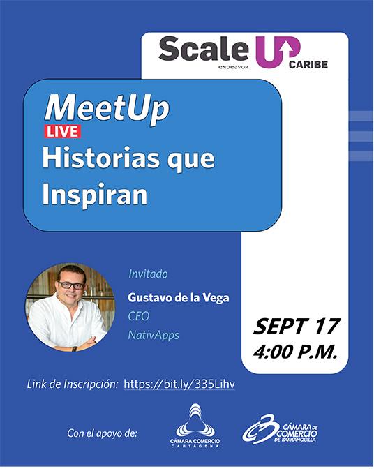 Meetup: Historias que Inspiran – Endeavor