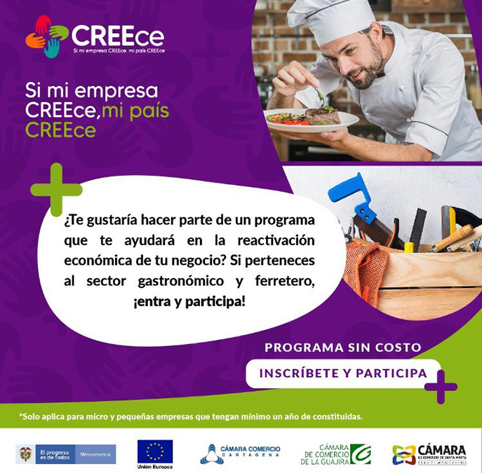 INSCRIPCIÓN CREEce 2020