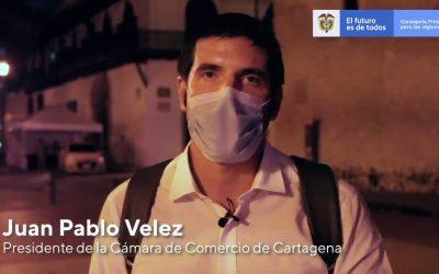 Gremios y autoridades de Bolívar destacan apoyo y compromiso del Gobierno Nacional para lograr la reactivación económica y social de la región