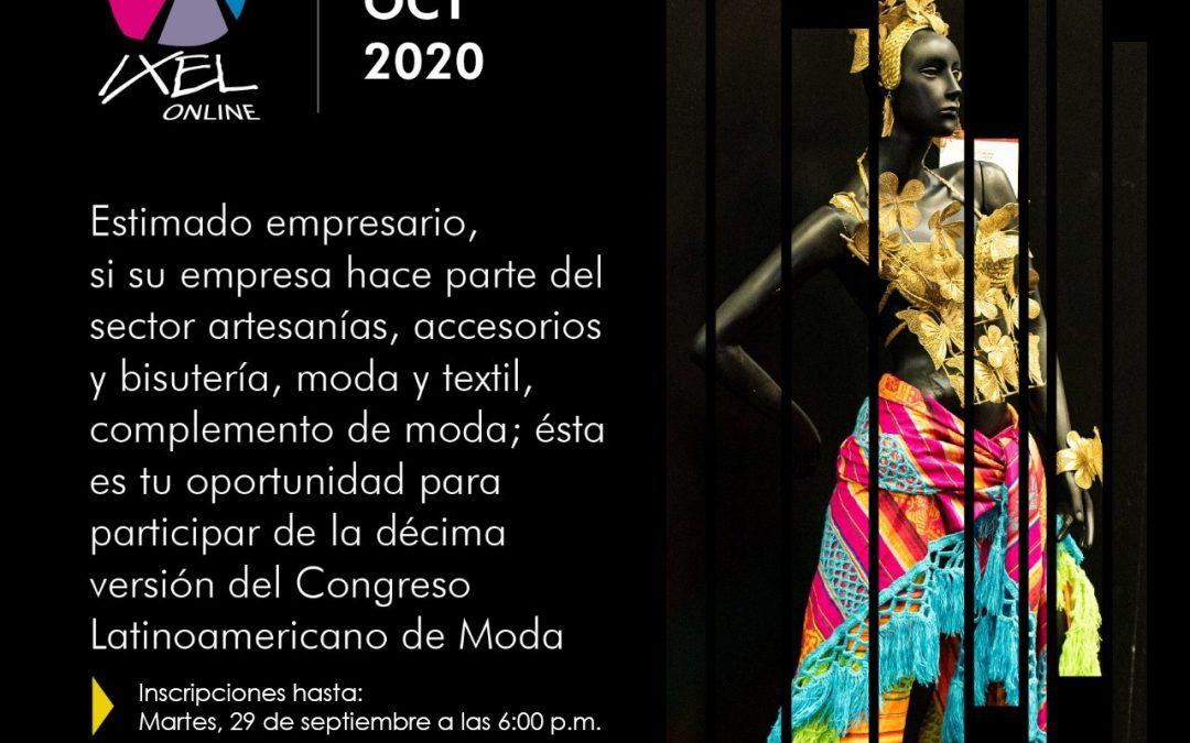 Inscripciones Empresarios IXEL MODA 2020