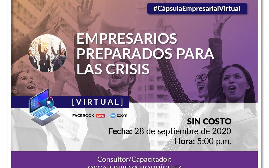 Webinar: Empresarios preparados para la crisis