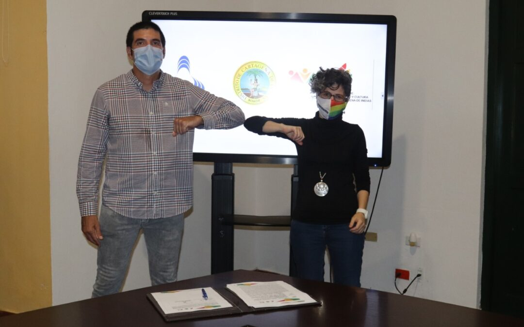 IPCC firma convenio con la Cámara de Comercio de Cartagena para apoyar la industria creativa