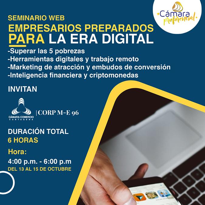 Seminario Web: Empresarios preparados para la era digital