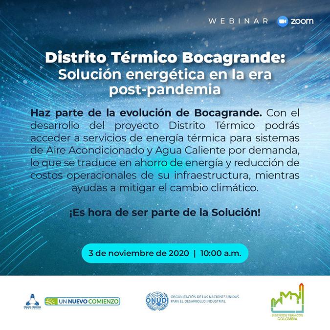 """Webinar: """"Distrito Térmico Bocagrande"""""""