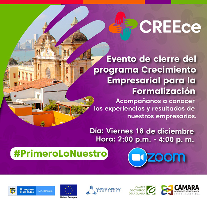 Evento Clausura Programa CREEce