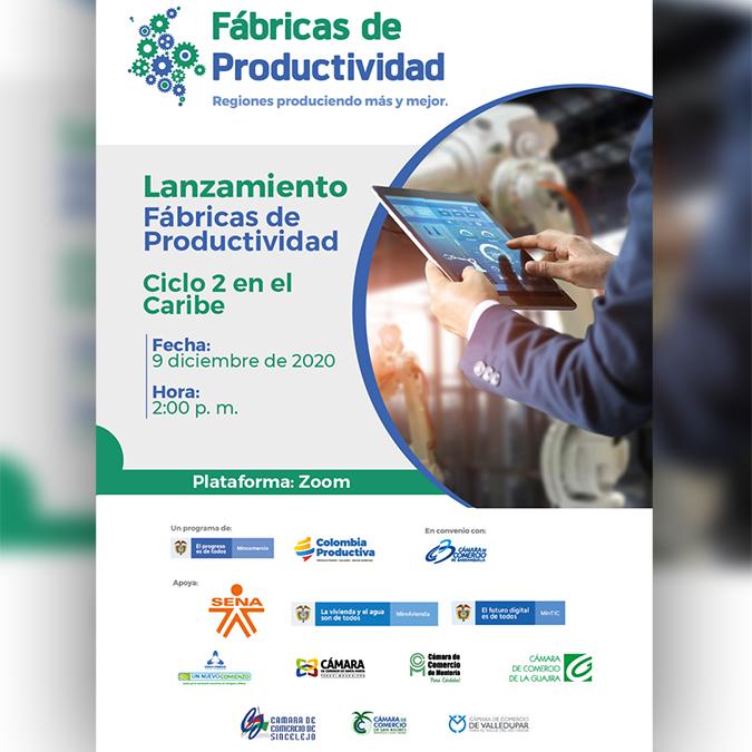 Lanzamiento Fábricas de Productividad