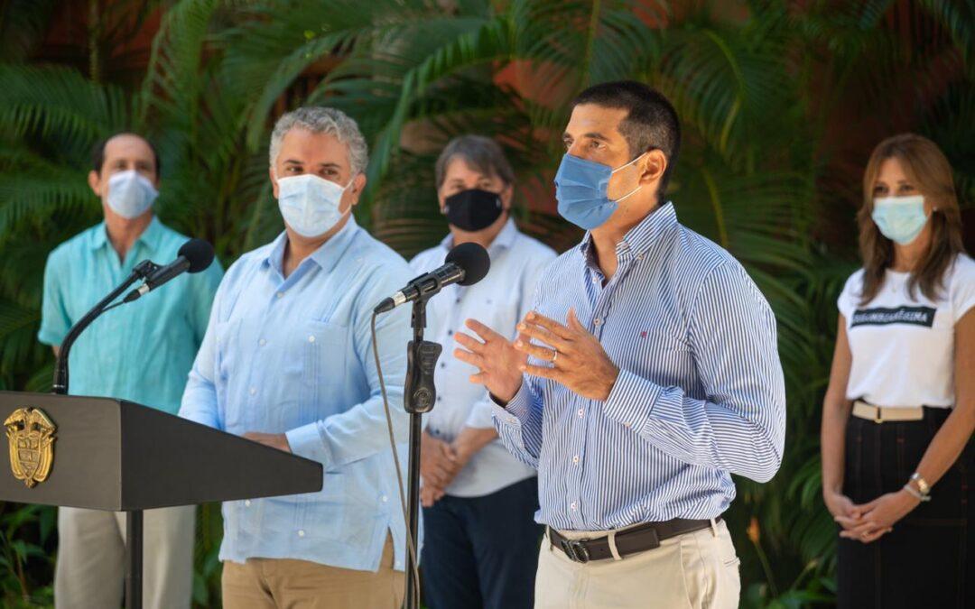 Mesa de Turismo promueve a Cartagena de Indias como destino bioseguro