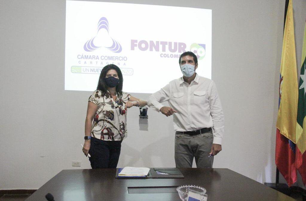 Convenio entre Fontur y Cámara de Comercio de Cartagena buscará fortalecer reactivación del turismo