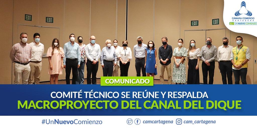 """""""No podemos parar"""": Comité técnico se reúne y respalda proyecto del Canal del Dique"""