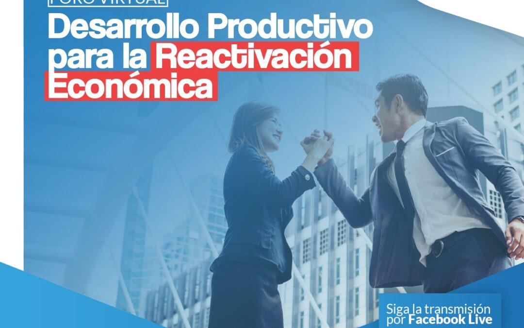"""Cámara de Comercio de Cartagena y El Universal realizan foro """"Desarrollo productivo para la reactivación económica"""""""