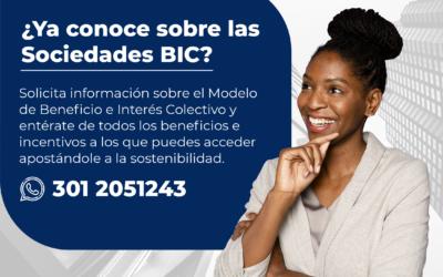 Invitación de la Cámara de Comercio de Cartagena a adoptar modelo de Sociedades BIC