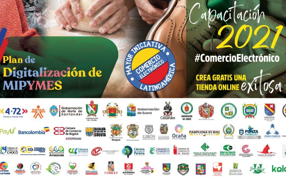 La Cámara de Comercio de Cartagena lidera capacitación digital para pequeñas empresas
