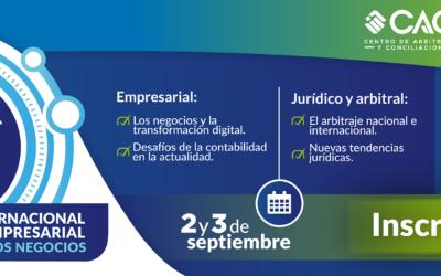 Llega el VI Congreso Internacional de Derecho Empresarial, Contable y de los Negocios de la Cámara de Comercio de Cartagena