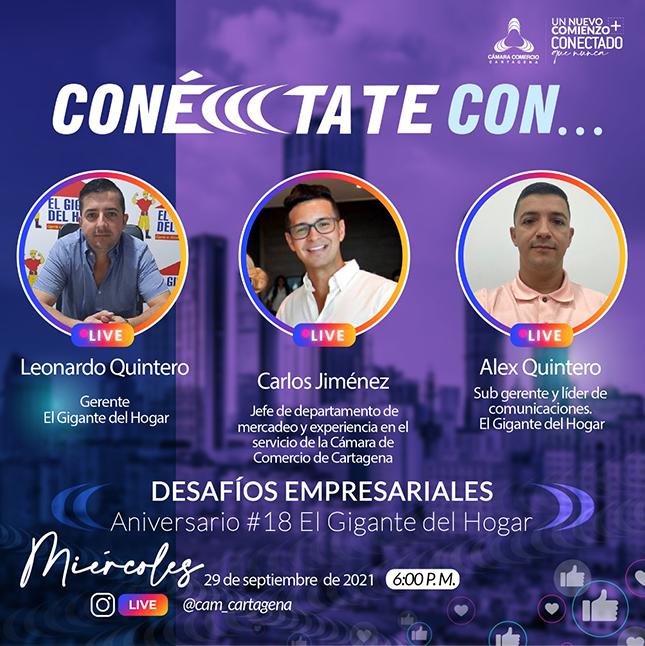 #ConéccctateCon Leonardo Quintero y Alex Quintero