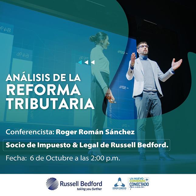 Conferencia virtual: Análisis de la Reforma Tributria