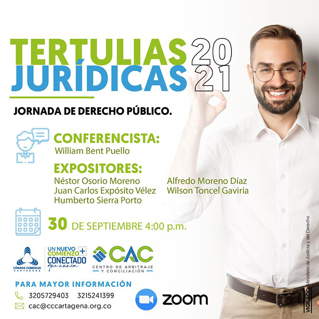 Tertulia Jurídica Jornada de Derecho Público